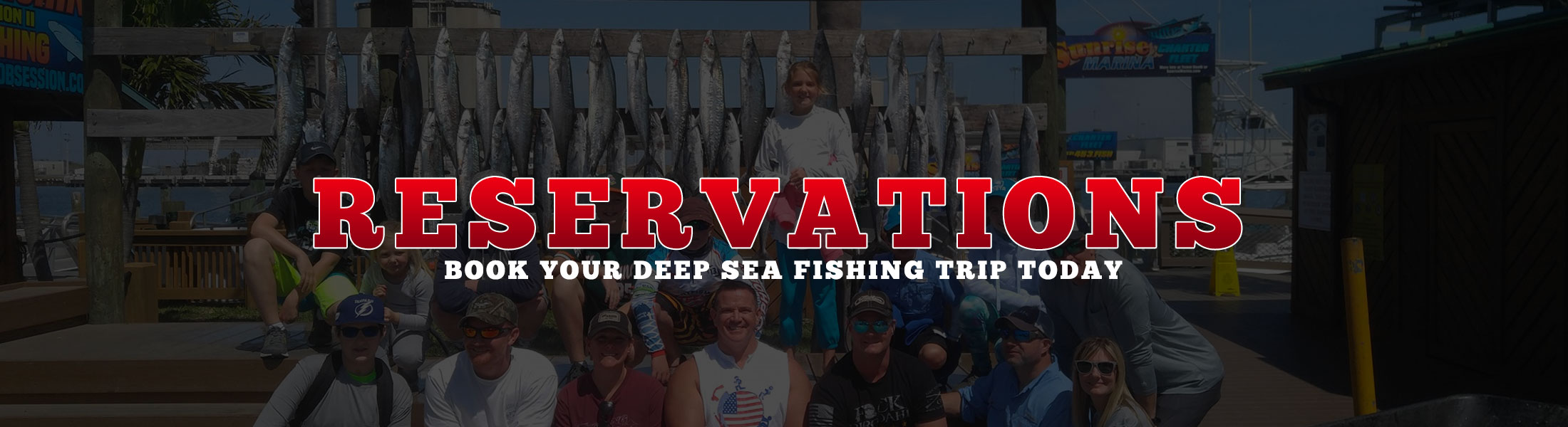 Book your fishing trip on the best deep sea fishing charter in Cocoa Beach.