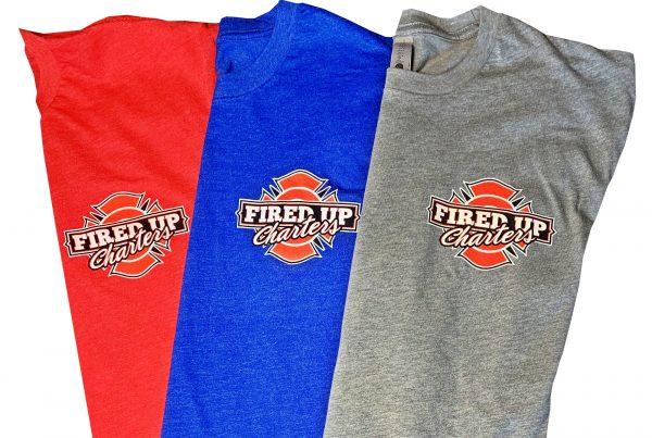 Shop Fired Up Fishing Charter Shirts